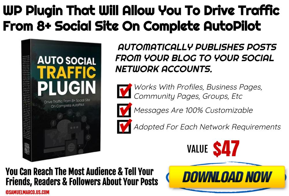 Auto Social Traffic WP Plugin