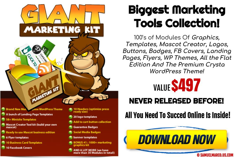 Giant Marketing Kit White Label