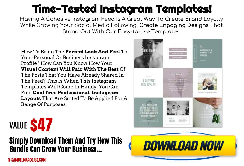 Time-Tested Instagram Templates