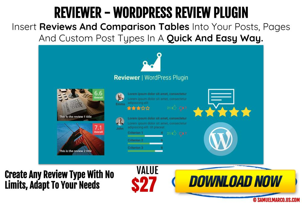 Reviewer WP Review Plugin