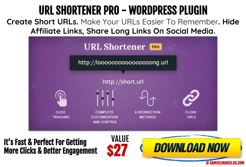 URL Shortner WP Plugin